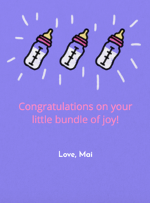 Thumb babybottles greeting birthdays