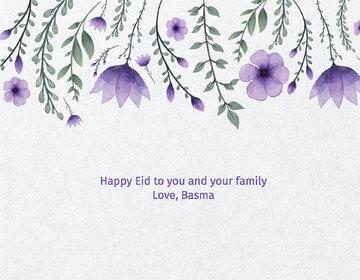 Thumb hangingflowers purple greeting eid