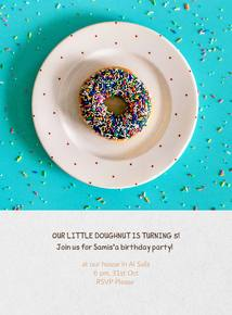 Thumb doughnut and sprinkles  eng